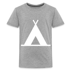dachile kids' teepee tee - Kids' Premium T-Shirt