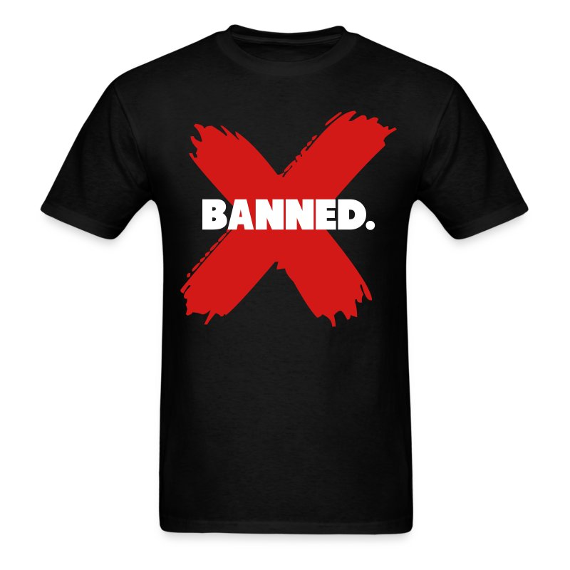Banned retro 1 jordan shirt t shirt spreadshirt for Jordan royal 1 shirt