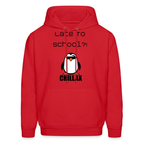 Late To School Quote Sweater - Men's Hoodie