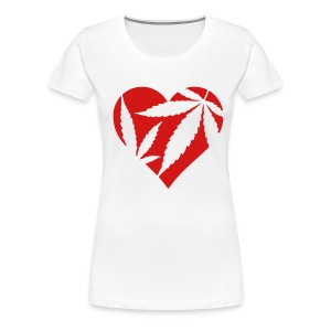 heart of kush - Women's Premium T-Shirt