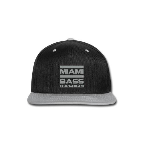 MBFM Snapback-grey - Snap-back Baseball Cap