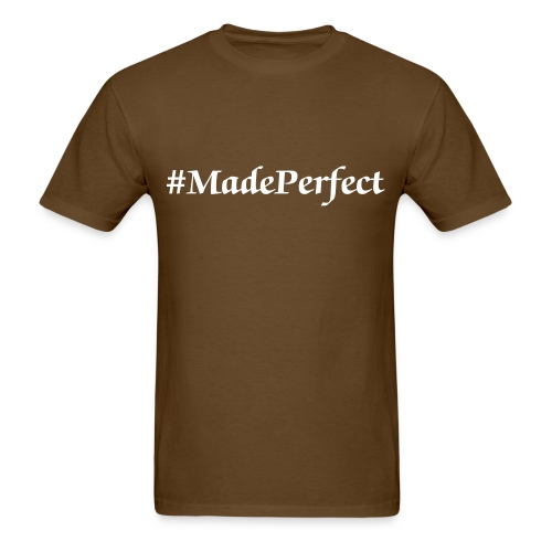 Hashtag Made Perfect Men's Tee - Men's T-Shirt