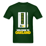 T-Shirts ~ Men's T-Shirt ~ Welcome to Oakland - Men's Tee