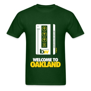 Welcome to Oakland - Men's Tee - Men's T-Shirt