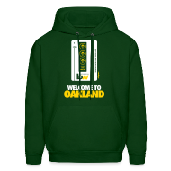 Hoodies ~ Men's Hoodie ~ Welcome to Oakland - Men's Hoodie