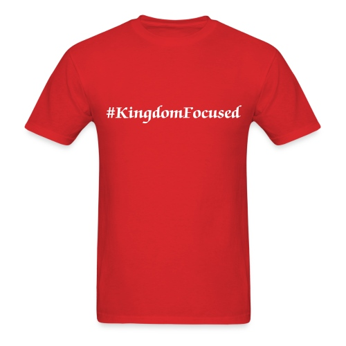 Hashtag Kingdom Focused Men's Tee - Men's T-Shirt