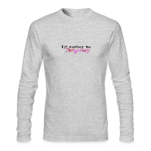 I'D RATHER BE CRAFTING - Men's Long Sleeve T-Shirt by Next Level