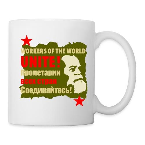 Karl Marx Workers Unite Coffee Mug - Coffee/Tea Mug