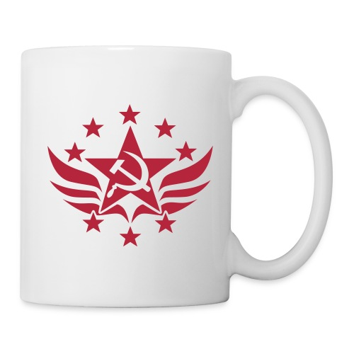 Hammer and Sickle Soviet Emblem Coffee Mug - Coffee/Tea Mug