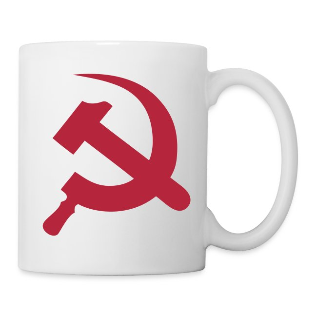 Communist Hammer and Sickle Symbol Coffee Mug