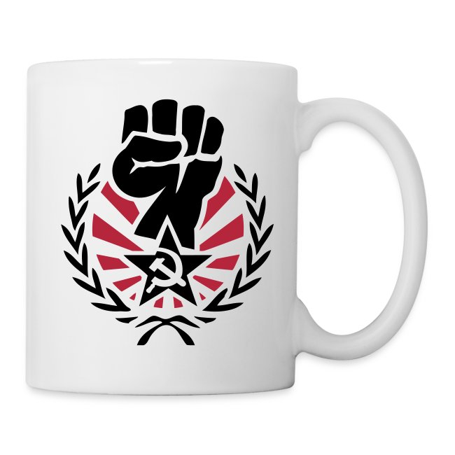 Raised Soviet Fist Coffee Mug