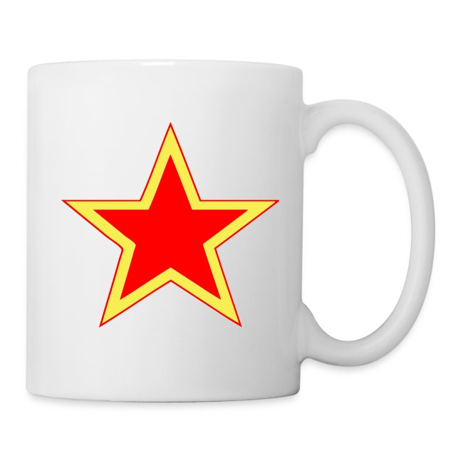 Soviet Red Army Star Coffee Mug
