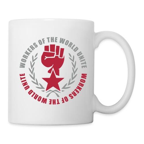 Workers of the World Marxist Fist Coffee Mug - Coffee/Tea Mug