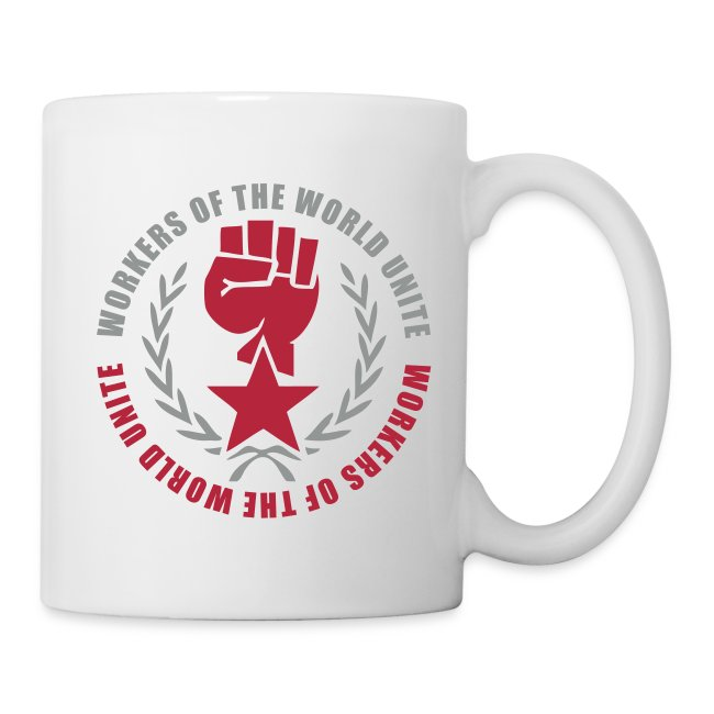 Workers of the World Marxist Fist Coffee Mug