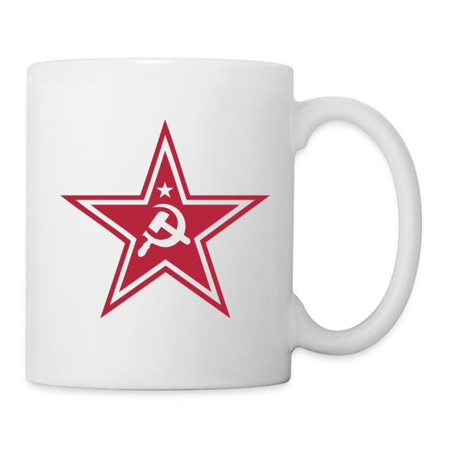 Communist Star Coffee Mug