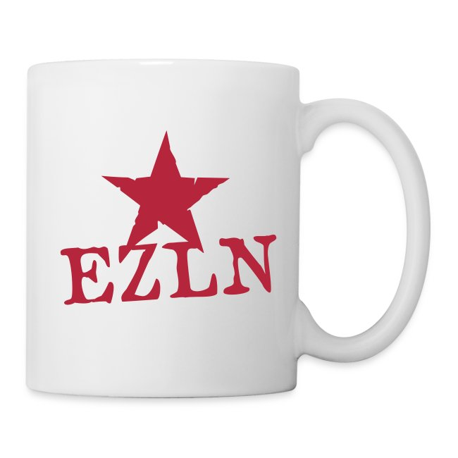 EZLN Red Star Coffee Mug