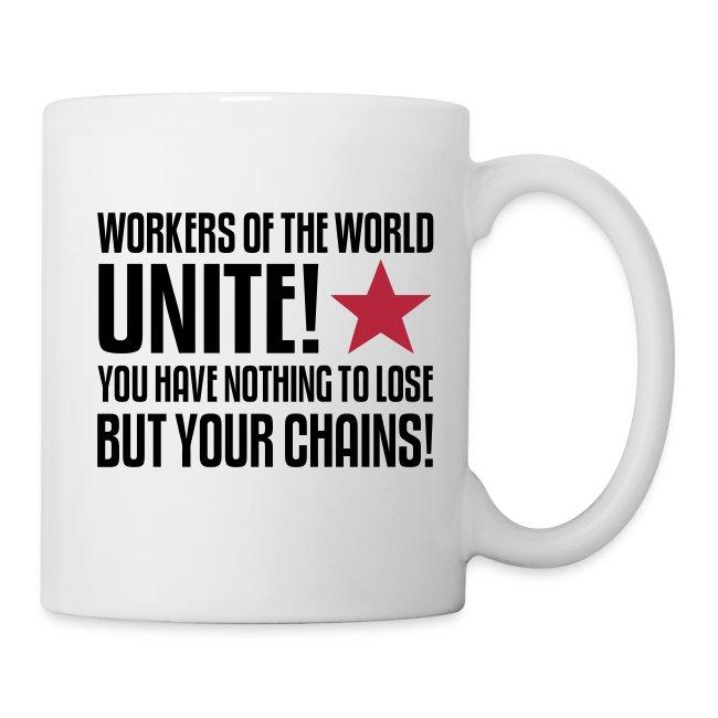 Workers of the World Unite Coffee Mug
