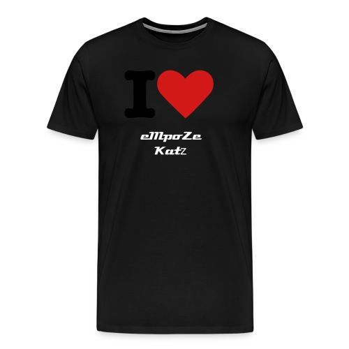 i Heart Katz - Men's Premium T-Shirt