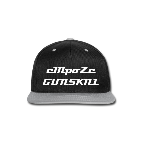 empoze gunskill - Snap-back Baseball Cap