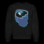 Long Sleeve Shirts ~ Crewneck Sweatshirt ~ Jordan 11 Gamma Blue Crewneck-Money on my Mind XI Shirt