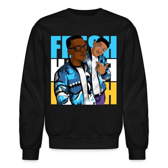 2d8b68e908be Jordan 11 Gamma Blue Crewneck-Fresh XI Shirt