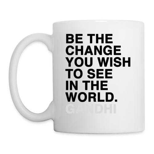 dachile Be the Change mug - Coffee/Tea Mug