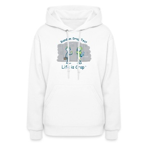 Random Drug Test  - Womens Hooded Sweatshirt - Women's Hoodie