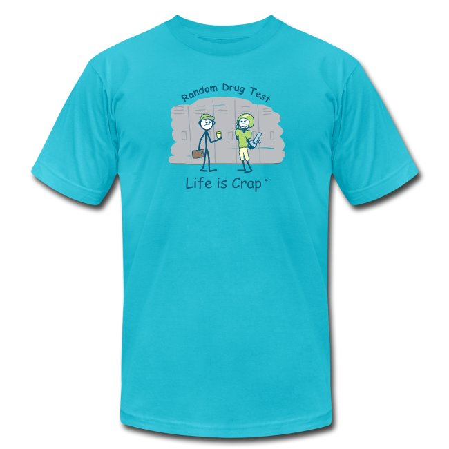Random Drug Test - Mens T-shirt by American Apparel