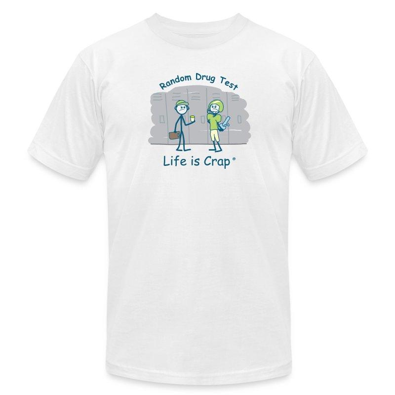 Random Drug Test - Mens T-shirt by American Apparel - Men's Fine Jersey T-Shirt
