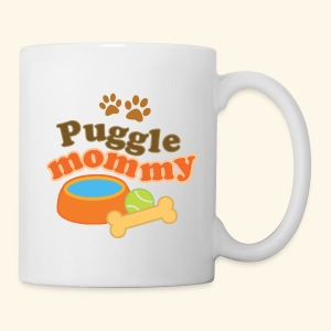 Puggle Mom Mug - Coffee/Tea Mug