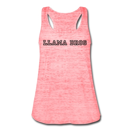 Llama Bros Women's Tank - Women's Flowy Tank Top by Bella