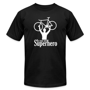 Be your own superhero - Men's T-Shirt by American Apparel