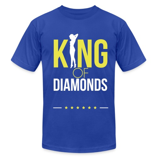 #BDF King of Diamonds Tee - Men's Fine Jersey T-Shirt