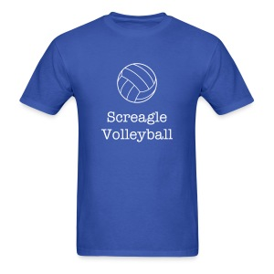Screagle Volleyball - Men's T-Shirt