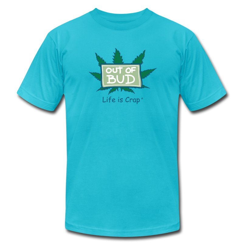 Out of Bud Sign - Mens T-shirt by American Apparel - Men's Fine Jersey T-Shirt