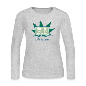 Out of Bud Sign - Womens Longsleeve T-shirt - Women's Long Sleeve Jersey T-Shirt