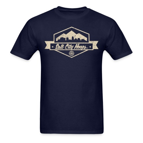 Salt City Hoops T-Shirt - Men's T-Shirt