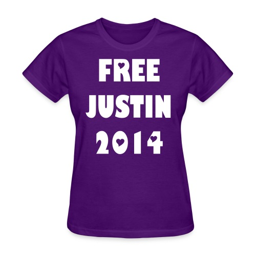 FREEJUSTIN - Women's T-Shirt