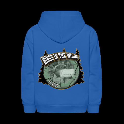 Kid's Hooded Sweatshirt- Wings in the Wilds - Kids' Hoodie