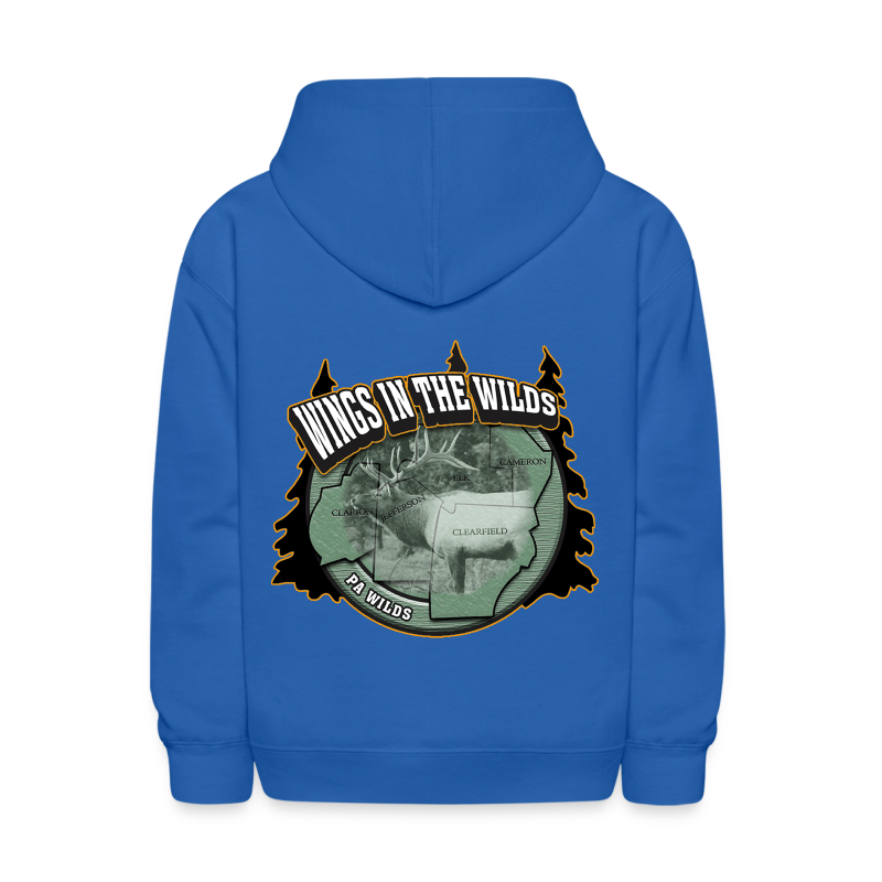 Kid's Hooded Sweatshirt- Wings in the Wilds - Kids' Hoodie