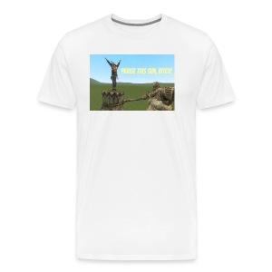 Praise this Sun, Bitch! T Shirt - Men's Premium T-Shirt