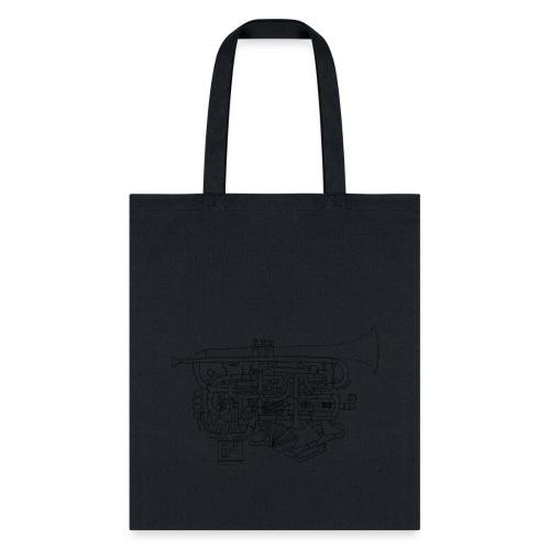Trumpet (Tote Bag) - Tote Bag