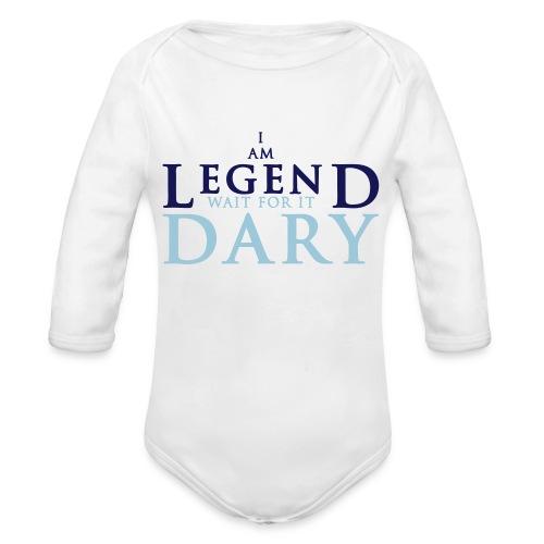 baby legendary - Organic Long Sleeve Baby Bodysuit