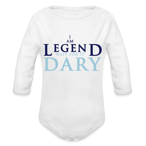 baby legendary - Organic Long Sleeve Baby Bodysuit