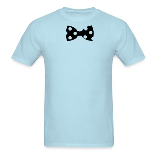 mens bowtie tishirt - Men's T-Shirt