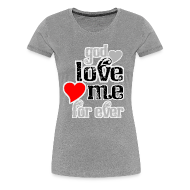 T-Shirts ~ Women's Premium T-Shirt ~ God love me for ever women t shirts
