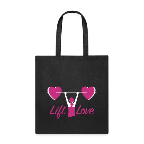 Lift Love Women's Canvas Tote - Tote Bag