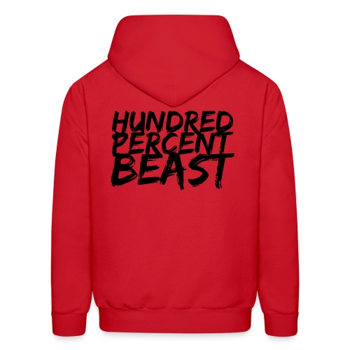 Hundred Percent Beast 2 (Male) - Men's Hoodie