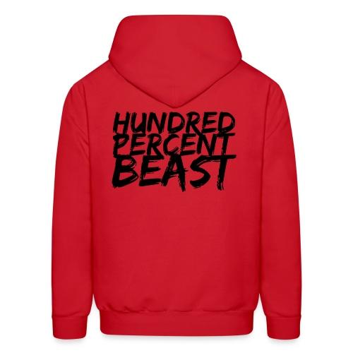 Hundred Percent Beast 2 (Male) - Men's Hoodie