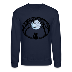 Fat Cat Sweatshirt Cat Lover Shirts & Gifts  - Crewneck Sweatshirt
